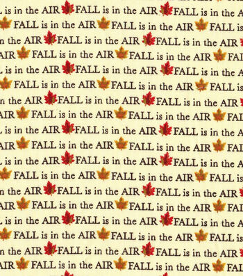 """Harvest Cotton Fabric 43""""-Fall is in the Air"""