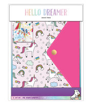 American Crafts Hello Dreamer Journal-Unicorn, , hi-res