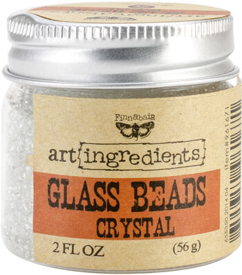 Prima Marketing Art Ingredients Glass Beads 2 oz