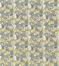 Novelty Cotton Fabric 44\u0022-Neutral Kitties