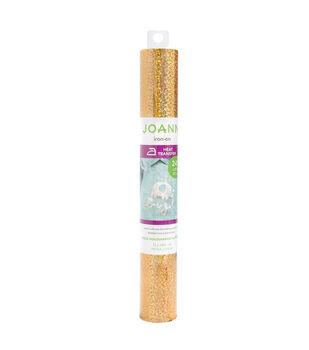 "Joann Iron-On 12""x24"" Holographic Glitter Roll"