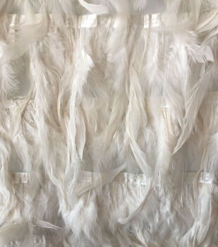 Gianna Heavy Solid Feather Fabric 55''