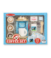 Melissa & Doug Wooden Brew Serve Coffee Set, , hi-res