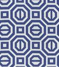 Williamsburg Multi-Purpose Decor Fabric-Georgian Geo/Sapphire