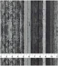 Keepsake Calico Cotton Fabric-Black Distress Wood