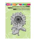 Stampendous Cling Rubber Stamp 5.5\u0022X4.5\u0022 Sheet-Sweet Sunflower