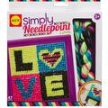 Alex Toys Simply Needlepoint Kit-Love