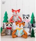 Simplicity Pattern 8313 Stuffed Animals