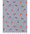 Luxe Flannel Fabric -Tie Dye Hearts