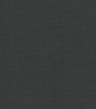 Upholstery Vinyl Fabric-Seville Black