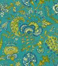 Williamsburg Upholstery Fabric 54\u0022-Grand Palampore/Peacock