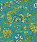 Home Decor 8\u0022x8\u0022 Fabric Swatch-Williamsburg Grand Palampore Peacock