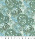 Keepsake Calico Cotton Fabric 44\u0027\u0027-Spa Tie Dye