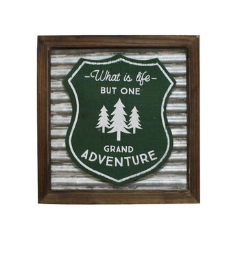 Camp Ann Wall Decor-What is Life But One Grand Adventure