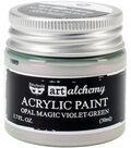Prima Marketing Art Alchemy Acrylic Paint-Opal Magic Violet-Green