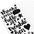 Shimelle Little By Little Thickers Stickers 5.5\u0022X11\u0022-Hello Joy Phrase