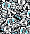 Nursery Flannel Fabric -Wild Patch