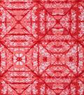 Keepsake Calico Cotton Fabric 43\u0027\u0027-Coral Tonal Geometric Diamond