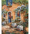 Plaid Creates Classic 16\u0027\u0027x20\u0027\u0027 Paint by Number Kit-French Country Cafe