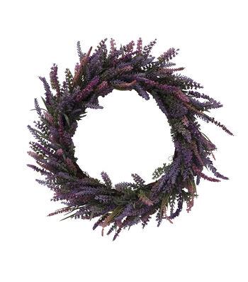 Fresh Picked Spring Dried Lavender Wreath