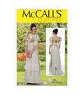 McCall\u0027s Pattern M7420 Misses\u0027 Laced-Back Dress-Size 14-16-18-20-22