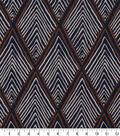 Robert Allen @ Home Print Swatch 55\u0022-Rhombi Forms Indigo