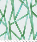 Genevieve Gorder Outdoor Fabric-Intersections Palm