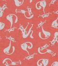 Snuggle Flannel Fabric -Sassy Cat