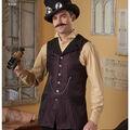 Simplicity Pattern 8408 Men\u0027s Shirt & Vests-Size BB (46-48-50-52)
