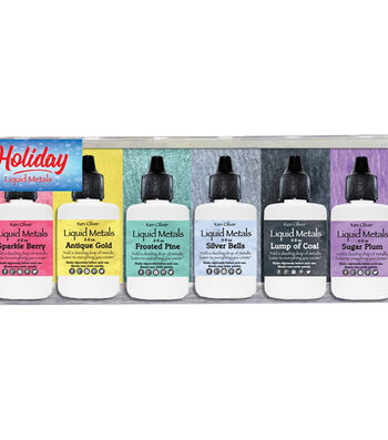 Ken Oliver Liquid Metal 6/Pkg-Holiday