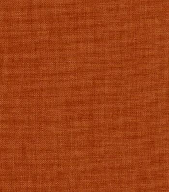 """Home Decor 8""""x8"""" Fabric Swatch-Solarium Rave Tangerine"""