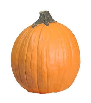 Fun-Kins Halloween 10'' Carvable Pumpkin-Orange