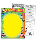 Our Class Rules Monkey Mischief Learning Chart 17\u0022x22\u0022 6pk