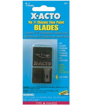 X-Acto Blade Refills-15PK/#11