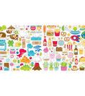 Doodlebug Odds & Ends Die-Cuts 113/Pkg-So Much Pun
