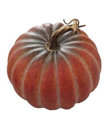 Blooming Autumn Medium Realistic Pumpkin-Orange