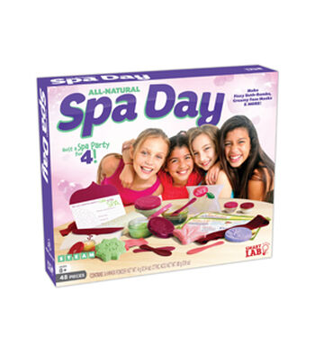 All Natural Spa Day Lab Kit