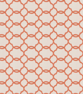"Eaton Square Lightweight Decor Fabric 53""-Shaw/Coral"