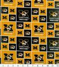 University of Missouri Tigers Cotton Fabric 43\u0022-Block