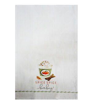 Simply Autumn Tip Towel-Spice Spice Baby