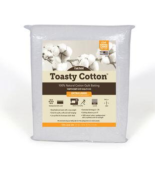 Fairfield Toasty Cotton Batting-King