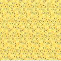 Premium Prints Cotton Fabric-Yellow X Marks the Spot