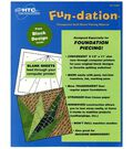 Fun-Dation Transparent  Quilt Block Piecing Material