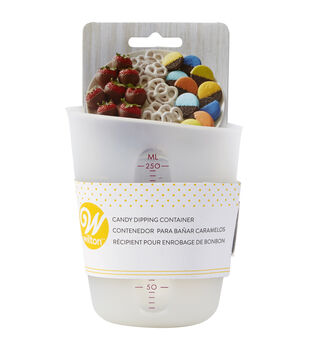 Wilton Candy Melts 4.9 fl. oz. Silicone Candy Dipping Container