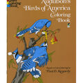 Adult Coloring Book-Dover Publications Audubon\u0027s Birds Of America