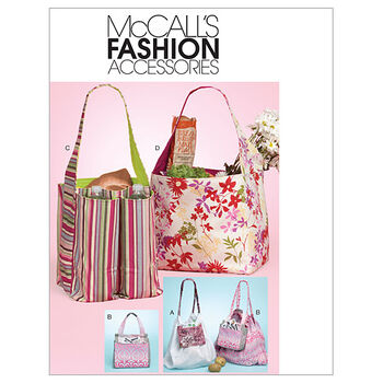 McCall's Crafts Totes & Bags-M6297