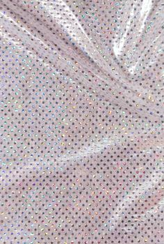 Performance Ultimate Polyester & Spandex Fabric -Silver