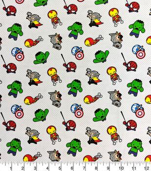 Marvel Knit Fabric-Kawaii Action Toss