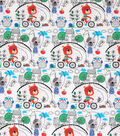 Novelty Cotton Fabrics -Animals In The Park