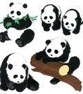 Jolee\u0027s Boutique Dimensional Embellishments-Pandas